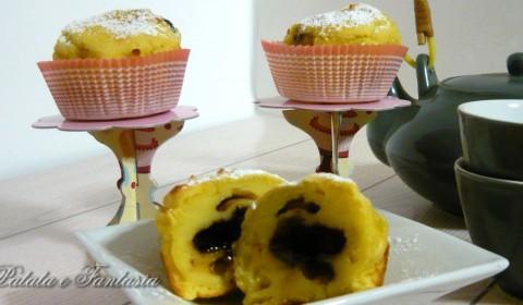Muffin di patate con cuore di Nutella