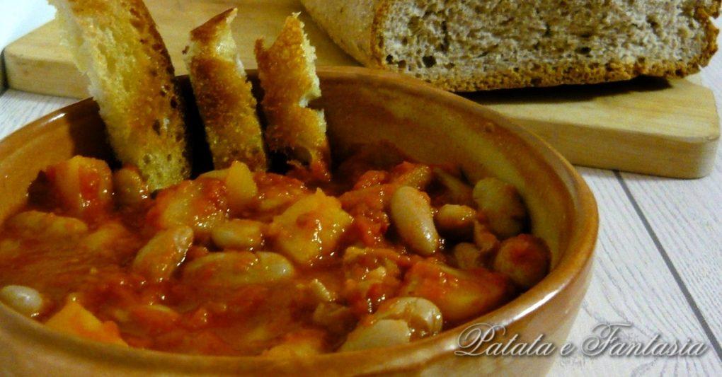 Fagioli in umido con patate ricette con fagioli in umido for Le ricette italiane