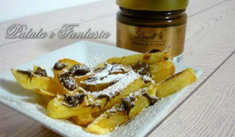 Patate fritte dolci con la Nutella