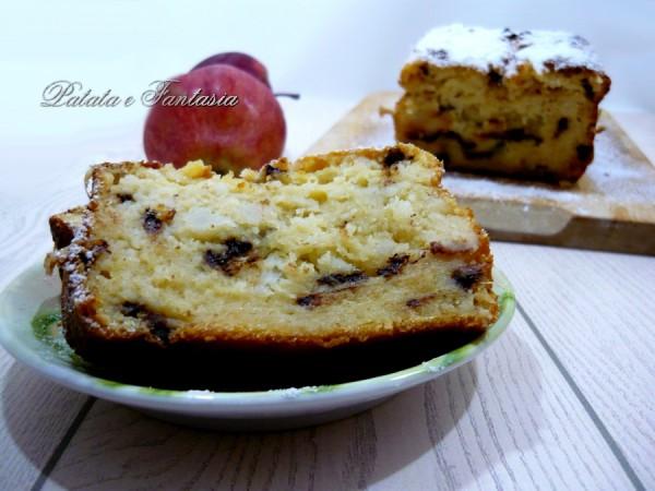 plumcake-mele-patate-dolci