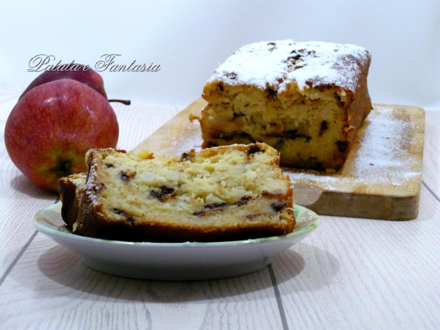 plumcake-patate-mele-cioccolato