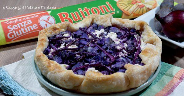 ricetta-torta-salata-patate-viola-cipolla-gluten-free-evi