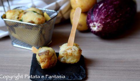 Polpette di Patate e Melanzane
