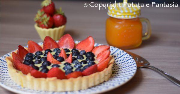 ricetta-crostata-crema-frutta