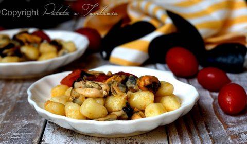 Chicche di patate con vongole e cozze