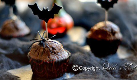 Muffin al cioccolato | Ricetta Halloween