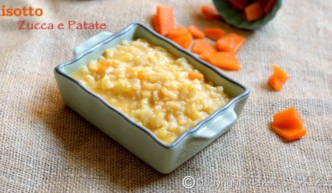 Risotto con Patate e Zucca