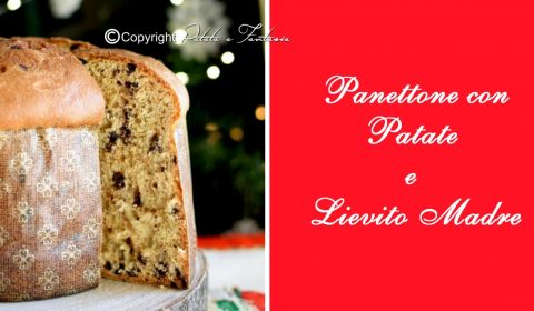 Panettone Classico con Lievito madre e Patate