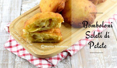 Bomboloni di patate salati - Ricetta Facile