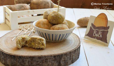 Polpette di Patate e Broccoli al forno