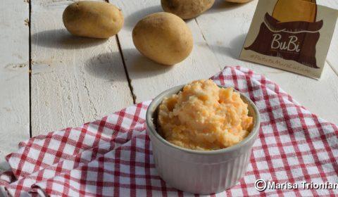 Purea di patate e zucca