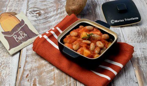 Fagioli in umido con le patate