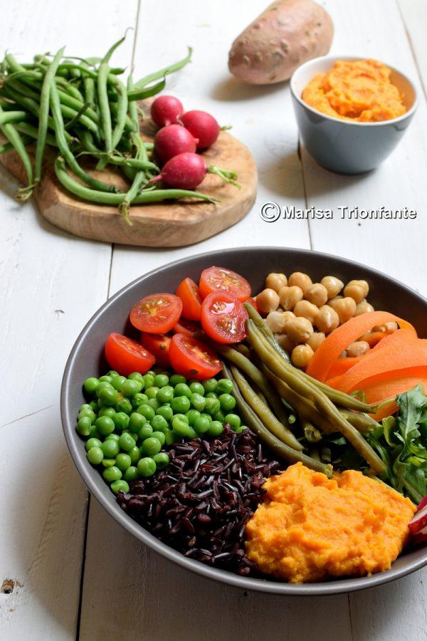 buddha bowl ricetta
