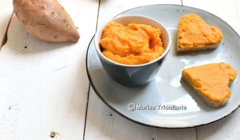 Hummus di patata dolce