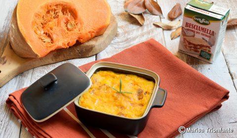 Pasticcio di zucca e patate goloso