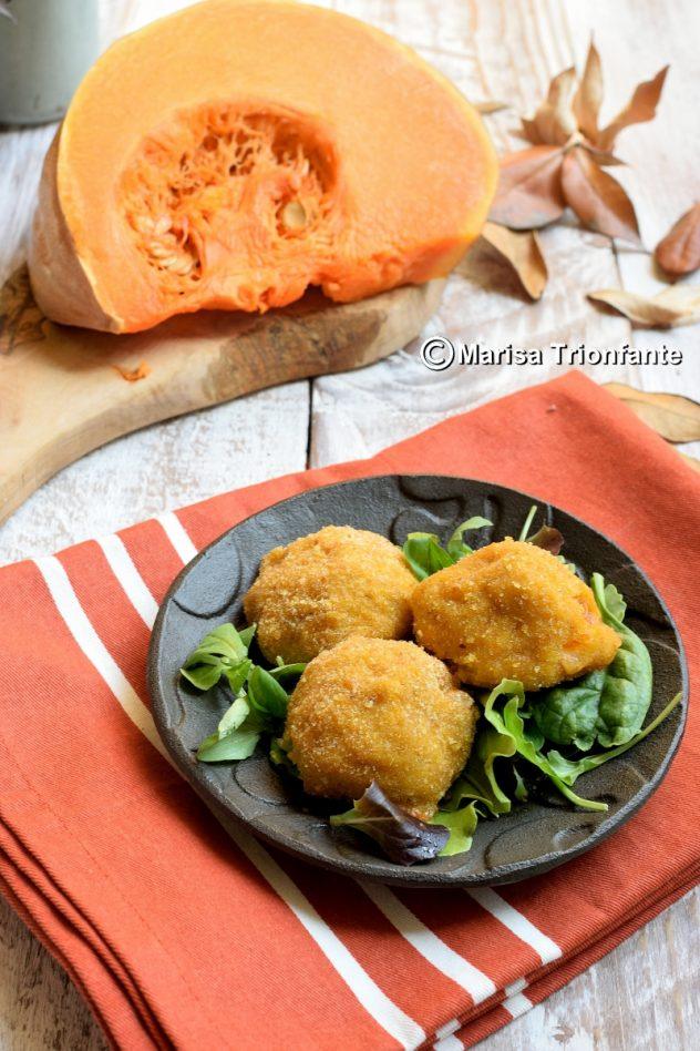 ricetta delle polpette con patate e zucca