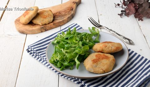 Burger di patate e tonno
