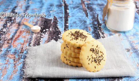 Biscotti con frolla di patate al profumo di zafferano