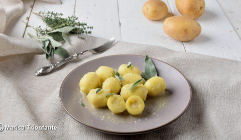Gnocchi di patate ripieni di Castelmagno