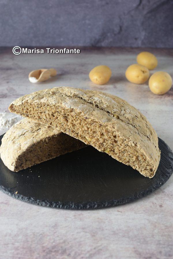 pane ai cereali con patate
