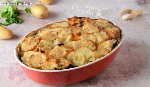 Patate, riso e cozze o Tiella Barese